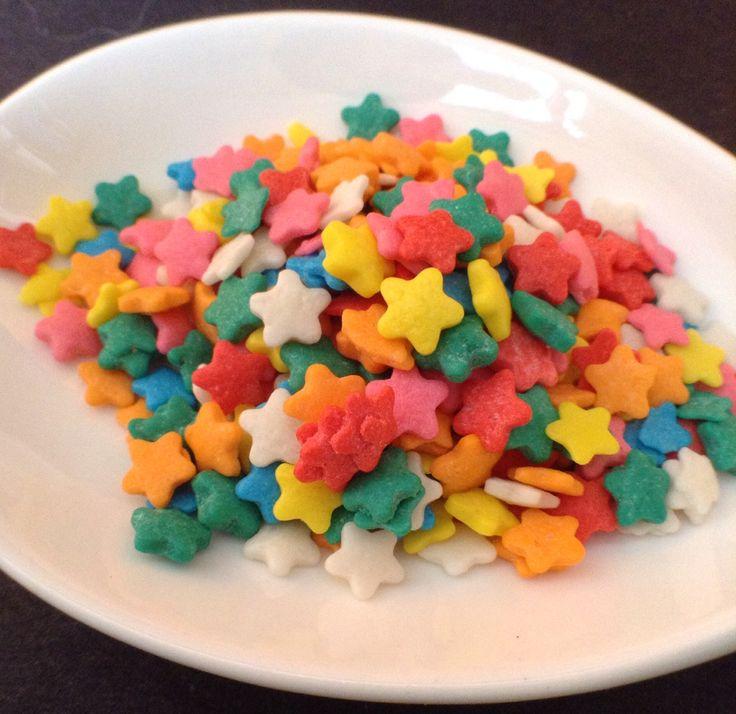 Sprinkles en forma de Estrellas