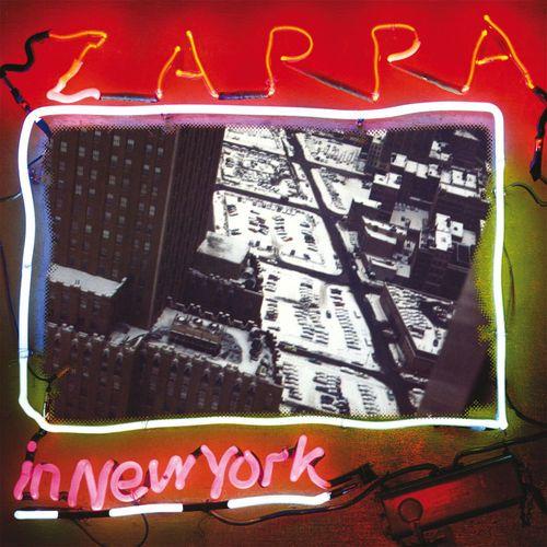 Frank Zappa - Zappa In New York  Discreet 2D 2290 - Enregistré du 26 au 29 décembre 1976 - Sortie en 1977  Note: 7/10