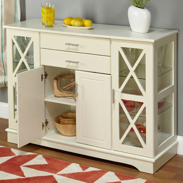 Best 25+ White buffet cabinet ideas on Pinterest | China cabinets ...