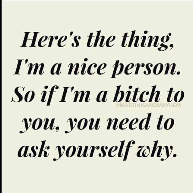Hmmm I wonder? Lol. Because you lie continuously! To everyone. You are crazy. I'm out narcissist. Xx good luck to your next victim. Lol.