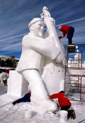 Budweiser International Snow Sculpture Championships: 1/26/2016 – 1/30/2016 2016. Come check out the Breckenridge ice sculptures.
