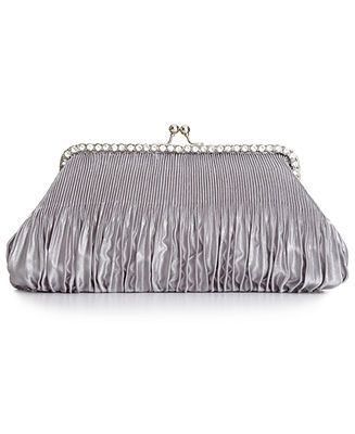 Champagne clutch (not this silver one)