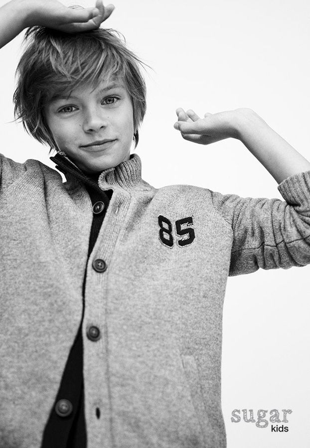 Tuur from Sugar Kids for Massimo Dutti Urban Kids.