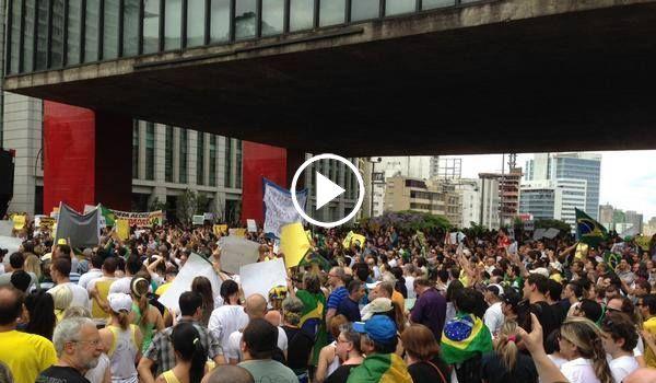 Folha Política: Assista ao vivo à manifestação pedindo o impeachment de Dilma e a anulação das eleições