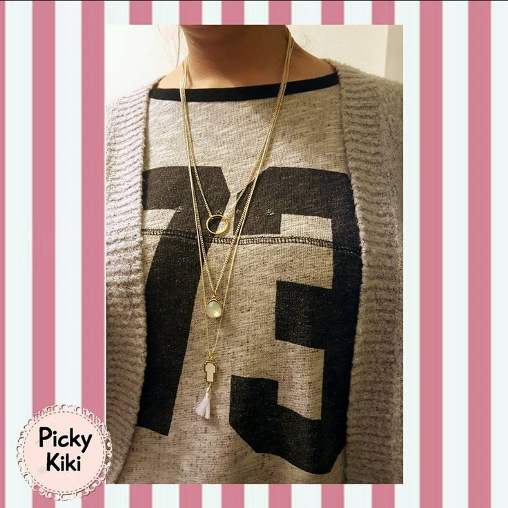 Set of handmade long necklaces | Picky Kiki Handmade Accessories & Street Fashion Blog