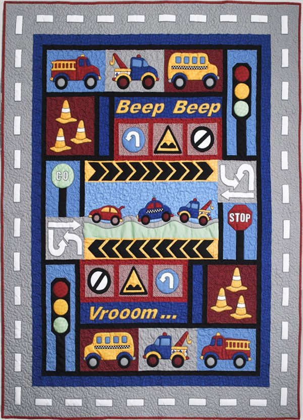 Kids Quilts - Traffic Jam Pattern