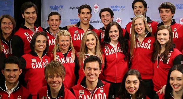 Sochi 2014 Canadian Olympic Figure Skating Team