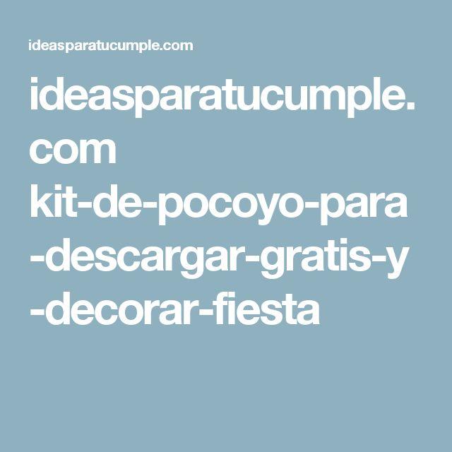 ideasparatucumple.com kit-de-pocoyo-para-descargar-gratis-y-decorar-fiesta
