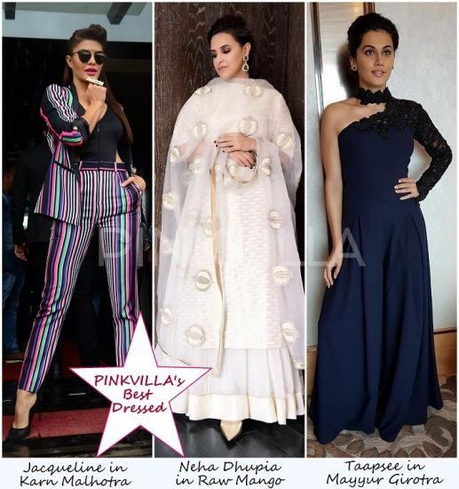 Celebrity Style,neha dhupia,Jacqueline Fernandez,parineeti chopra,Taapsee,Lisa Rani Ray,Pooja Hegde