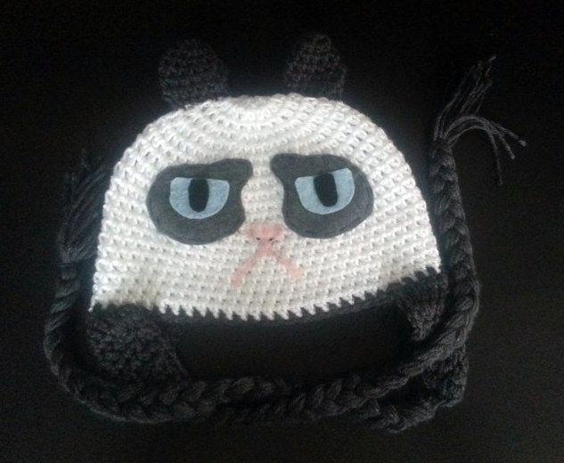 Grumpy Cat Crochet Hat Pattern Free : 1000+ images about Crafts ~ Crochet on Pinterest Free ...