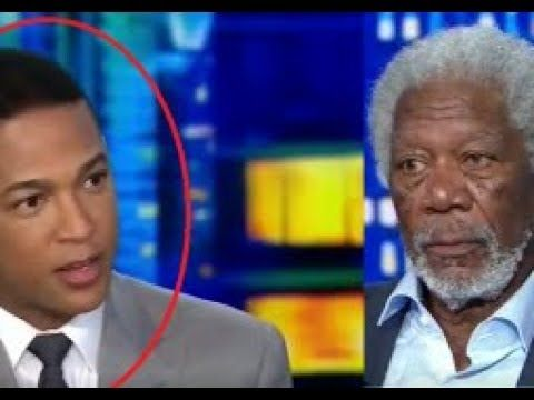 MORGAN FREEMAN EDUCATES 'DUMB' DON LEMON ON RACISM - YouTube
