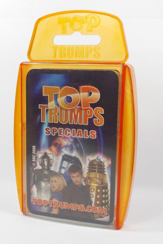 Top Trumps - Doctor Who - 2006 - Complete Set (1)