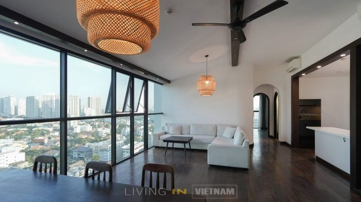 The Ascent Unique 2 Br Flat In Ho Chi Minh City Cool Apartments Modern Apartment Spacious Living Room
