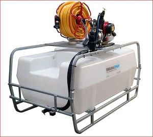 400 litres motorised water bowser, available with an optional pump mounting plate which enables the fitting of different pumps and other add-on for easy watering of large gardens, hanging baskets, orchards, vegetable plots and more. For more info contact us at: http://www.fresh-group.com/waterers-and-bowsers.html