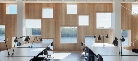 Umeå School of Architecture :: Henning Larsen Architects
