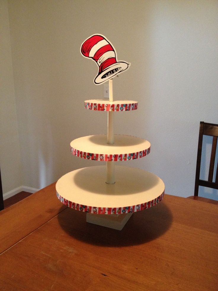 Image result for dr. seuss cake stand