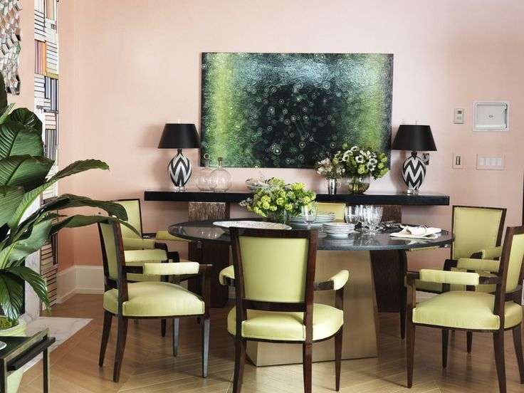 208 Best Pink Dining Rooms Images On Pinterest  Pink Dining Rooms Amazing The Dining Rooms Design Inspiration