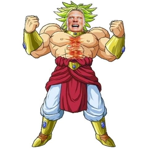 WWE got a massive explanation to address. That damn network was too violent for PG, because of that man has evolved into a Supermassive Beast sending too many men in the hospital with fractured bodies. WWE was exactly childish as it can be, but he don't give a junk.  Holy sh**; if Broly fuses with Brock Lesnar off the screen, both of them will end up turning into a drastic vegetable (what Roshi called Broly from the 8th movie) is Brock-oly.  Look out John Cena! Summerslam is going to be pain…