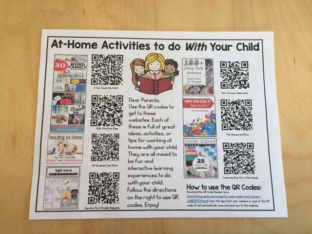Sarah's First Grade Snippets: Parent Involvement