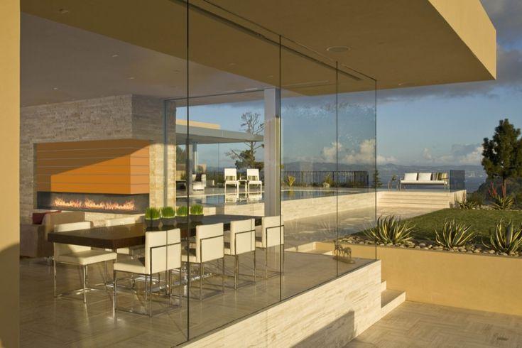 gh_180712_16Dining Room, Miers Architects, San Francisco Bay, Garay Resident, Dreams House, Glasses Wall, Swatt Miers, Modern House, Tiburon California