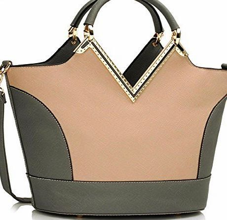 Chloe Ladies Fashion Designer Trendy Two Tone Patent Bags Womens Elegant Celebrity Handbag CWS00379 (A GRE Ladies Fashion Designer Trendy Two Tone Patent Bags (Barcode EAN = 0611901485164). http://www.comparestoreprices.co.uk/december-2016-week-1/chloe-ladies-fashion-designer-trendy-two-tone-patent-bags-womens-elegant-celebrity-handbag-cws00379-a-gre.asp