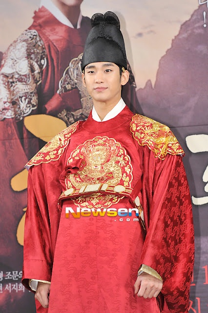 Korean actor Kim Soo Hyun picked by netizens  as the top celebrity in a survey for the celebration of White Day (March 14) in Korea