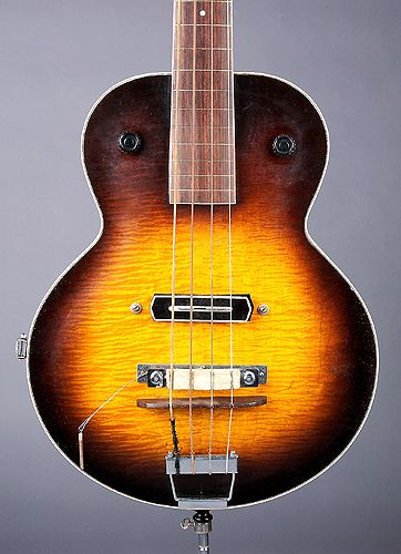 17 best images about music stuff gretsch acoustic body of gibson prototype electric upright bass guitar 1938 check out that charlie christian pickup