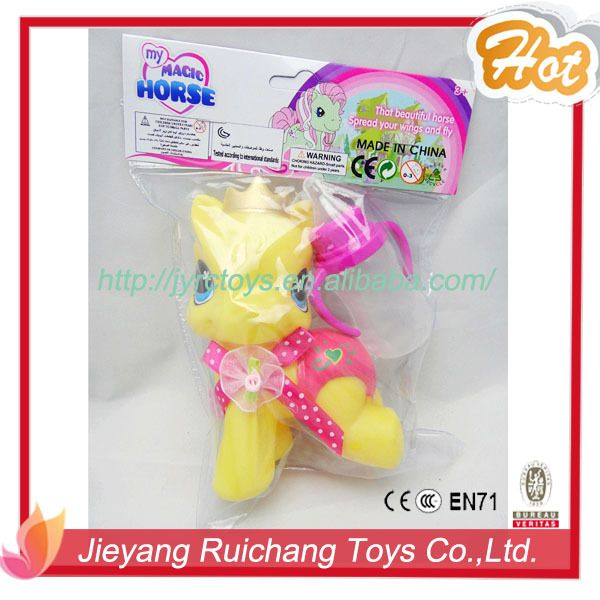 2015 kids toys my little pony toy with long hair