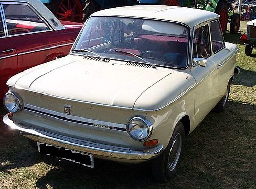 NSU Prinz 4 | NSU Prinz 4 (1961 to 1973) Two Door Body with a 598cc rear mounted air cooled engine