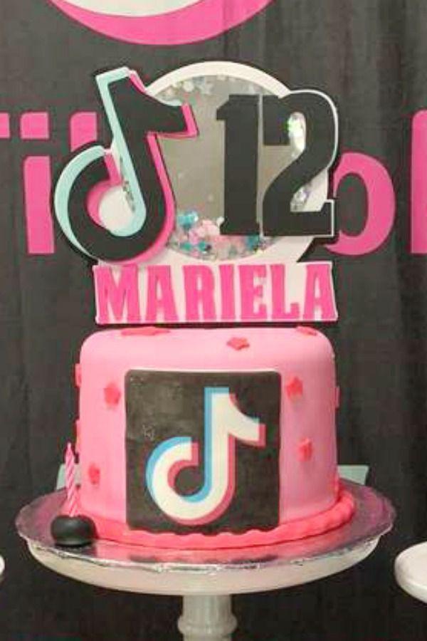 Tik Tok Birthday Party Ideas Photo 13 Of 13 Unique Birthday Cakes Creative Birthday Cakes Cake