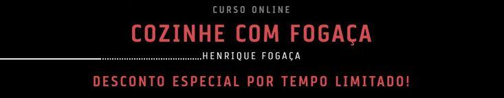 Curso Online Cozinhe com Fogaça – O Masterchef   http://therapids.net/curso-cozinheiro-chefe/cozinhe-com-fogaca/