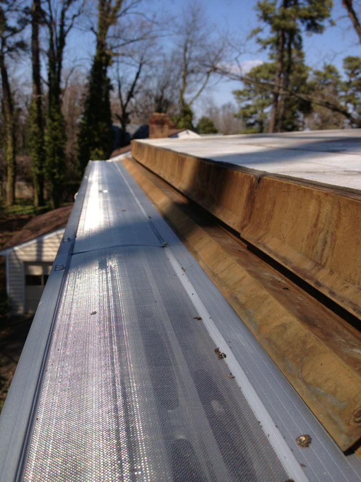 178 Best Gutter Guards Images On Pinterest Gutter
