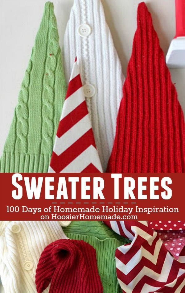 Sweater Trees: Holiday Inspiration
