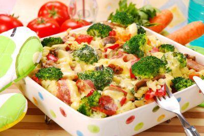 Zapečená brokolice