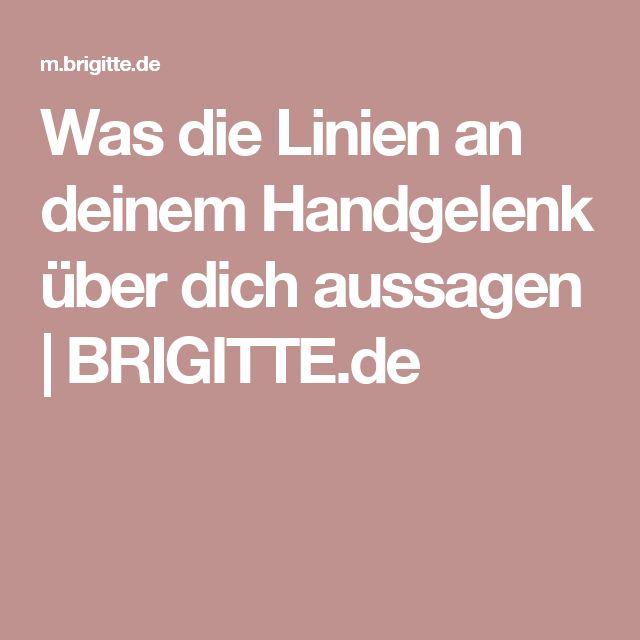 Was die Linien an deinem Handgelenk über dich aussagen | BRIGITTE.de