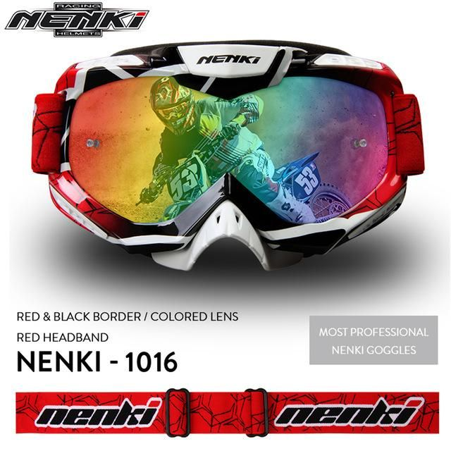 Multi Purpose Motocross Glasses, Motorcycle Goggles, Helmet Glasses Off-Road Dirt Bike ATV MX BMX DH MTB Eyewear