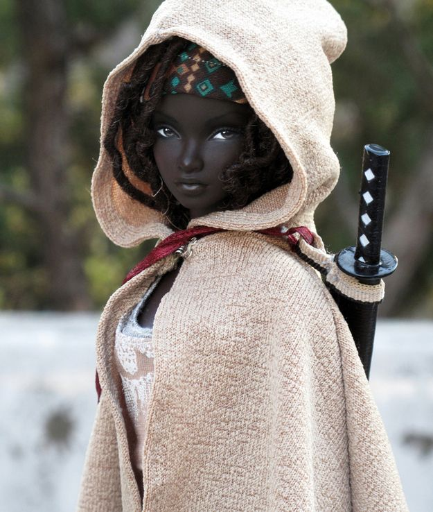 """Artist Park Seoung repaints fashion dolls and posts images of his creations on his Flickr page. 