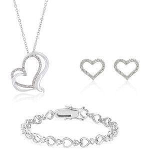Conjunto Corazón Infinito Completo - Valentina Salerno - Joyería  #colgante #corazón #pendientes #joyas #joyería #sanvalentín #diadelosenamorados #conjunto  #valentinasalerno #pulsera #corazones #jewels #jewelry #bracelet #pendant  #heart #hearts #earrings #valentinesday #love #inlove #jewelry set