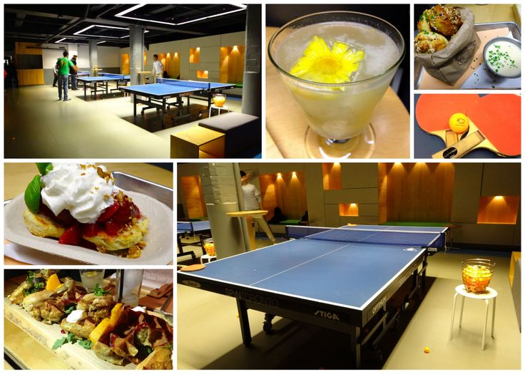 Food, drinks and ping-pong at SPiN Galactic in Toronto - http://foodiesinked.com/restaurants/spin-galactic-toronto/  #food #Toronto #restaurants