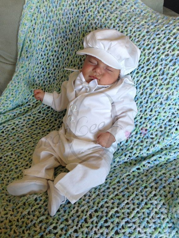 Baby Boys Christening blessing Suit / Outfit by Debragardner