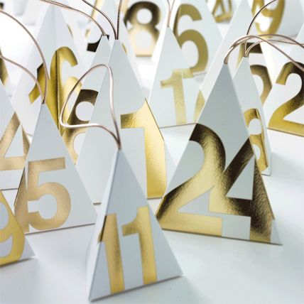 """Touch of Gold"" - Adventskalender zum Kaufen & Befüllen 8 - [LIVING AT HOME]"