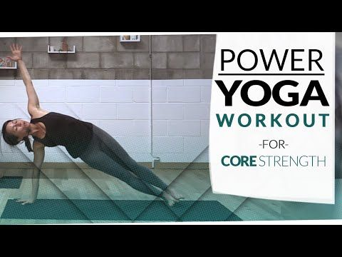 Power Yoga Core Flow 👌 Finding Center - YouTube