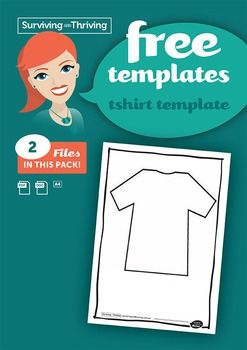 Use this blank T-Shirt template for your students to design. What would they like you to know about them?