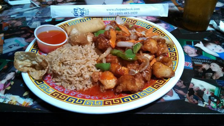 Chop and Wok Chinese Food in Scottsdale, Arizona. The BEST place in town!!!