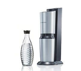 Ecco un gasatore di qualità estrema che vi permetterà di utilizzare anche delle bottiglie di vetro per avere acqua gassata di qualità senza alcun tipo di p