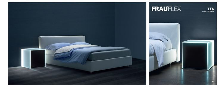 LETTO LEA by FrauFlex - Design F.De Bortoli