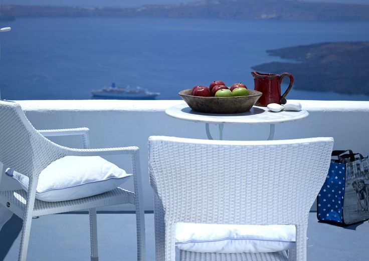 Visit Santorini and enjoy this amazing view at Alexander Villas !!  See More: www.alexander-villas.com
