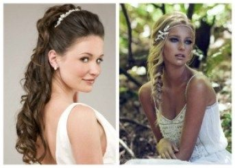 Wedding hairstyles for long hair 2019 For many years favorite hairstyle brides to be beautiful and elegant locusts. This modern hairstyle can be done ...
