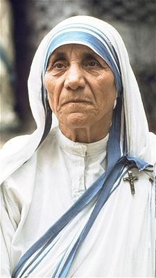 "Don't judge ""If you judge people, you have no time to love them."" – Mother Teresa, Catholic nun and founder of the Missionaries of Charity"