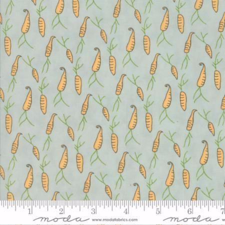 49004-16 Darling Little Dickens Carrots Aqua